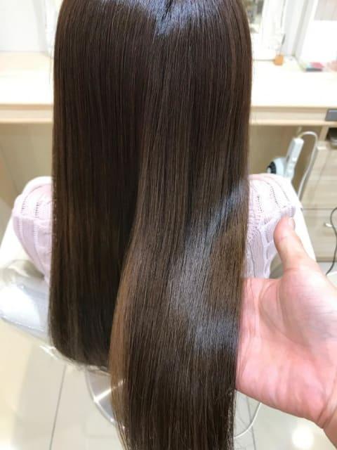 髪質改善、ダメージレスな縮毛矯正!