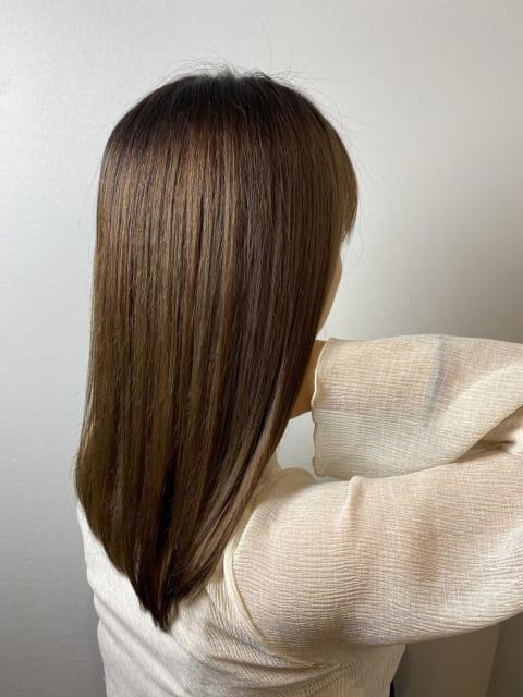 髪質改善ブリーチ縮毛矯正
