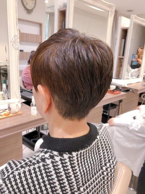 髪質改善ショート