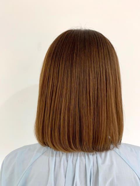 美フォルム髪質改善ストレート