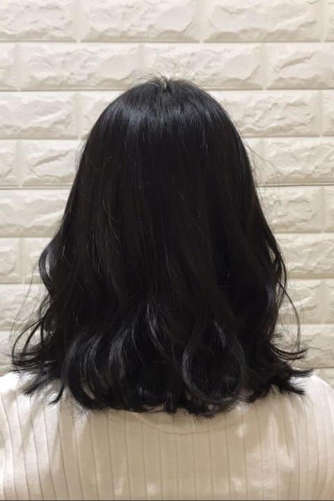 初カラーも安心☆暗髪 ✕ THROWカラー