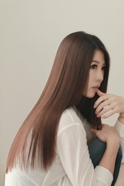 【髪質改善】 アイロン要らずのサラサラストレート