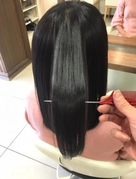 ノンアルカリ縮毛矯正が髪質を改善