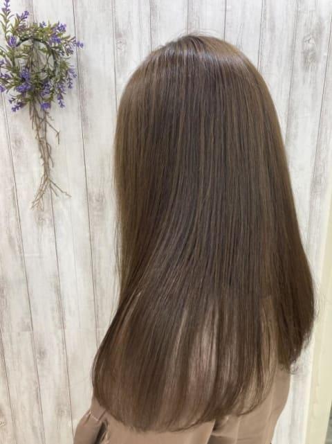 カラー×髪質改善