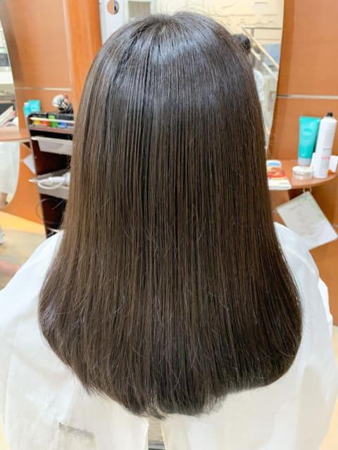 髪質改善 縮毛矯正  最高級の艶髪へ