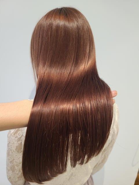 キレイな髪の第一歩:酸熱トリートメント