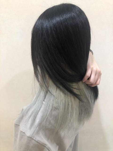 インナーホワイトカラー♡