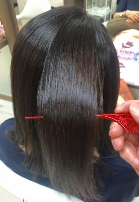 髪質が変わる縮毛矯正