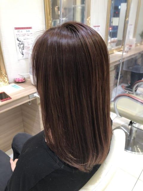 シークレットハイライト+髪質改善トリートメント