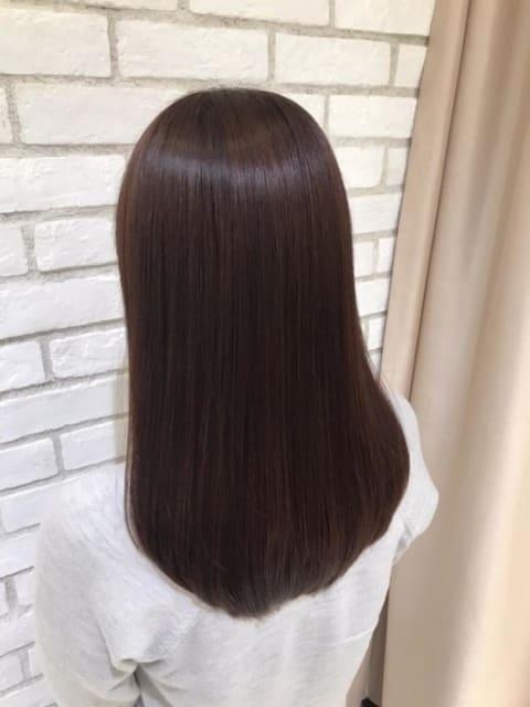 髪質改善トリートメント×ツヤ髪