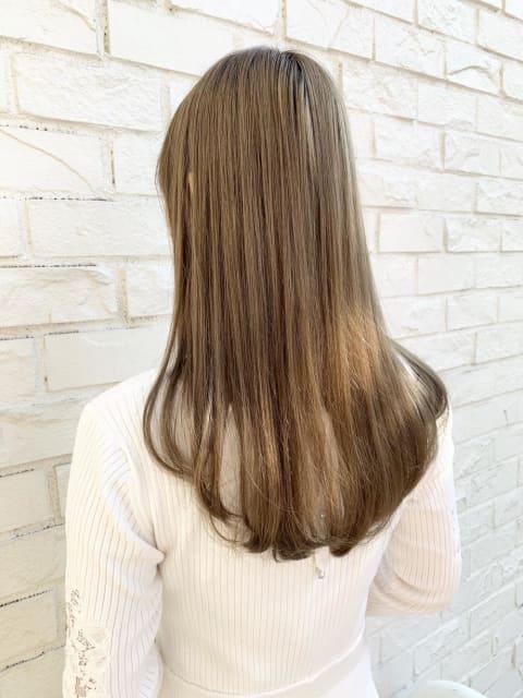 髪質改善 ストレート プレミアム縮毛矯正 ダメージレス