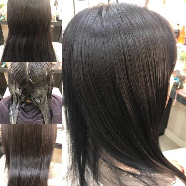 梅雨時期、癖毛に悩む人必見!!綺麗で艶のあるストレートヘアになる方法(ストレートパーマや縮毛矯正)