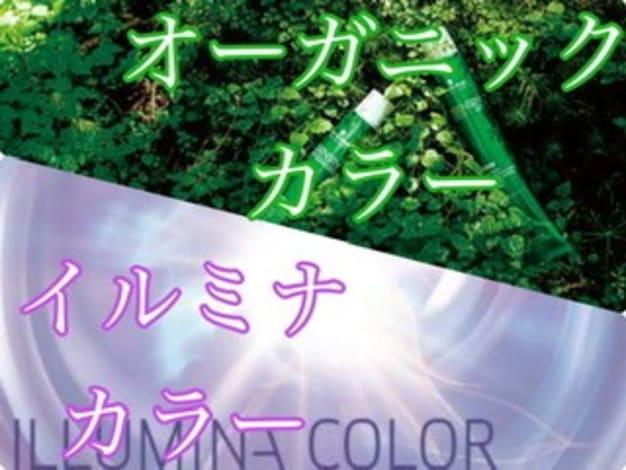 【低ダメージ】オーガニックカラー&【高発色】イルミナカラー