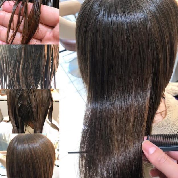 ブリーチ毛の縮毛矯正をかける時の注意点とやり方