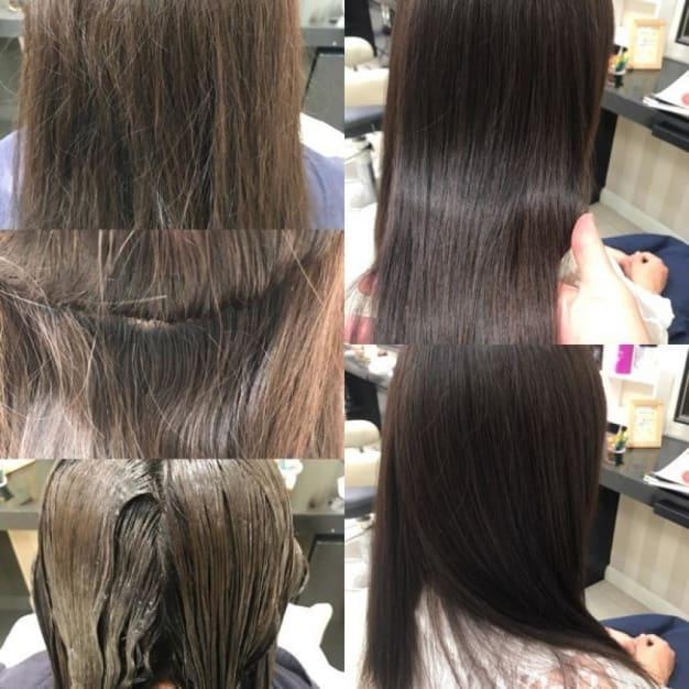 クセ毛で広がる、ハネる、髪のトラブル、4選!!縮毛矯正で解決!!