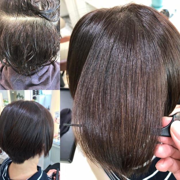 柔らかくて、細い髪に縮毛矯正をかける時の注意点3選