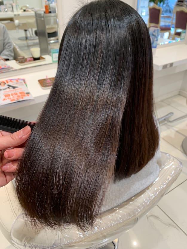 いろんな髪質に対応できる!武蔵小金井の縮毛矯正スキル☆
