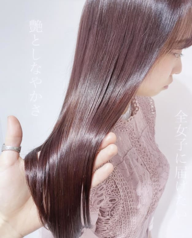テレビや雑誌にも取り上げられている最新の美容技術【髪質改善酸熱トリートメント】 美容院で1番髪の毛が綺麗になる施術です☆