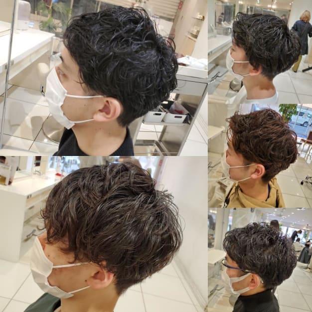 【men's】坂上4月オススメ!パーマスタイル5選!!
