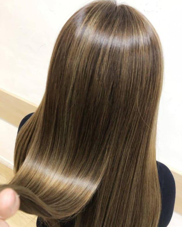 シームレス縮毛矯正・髪質改善