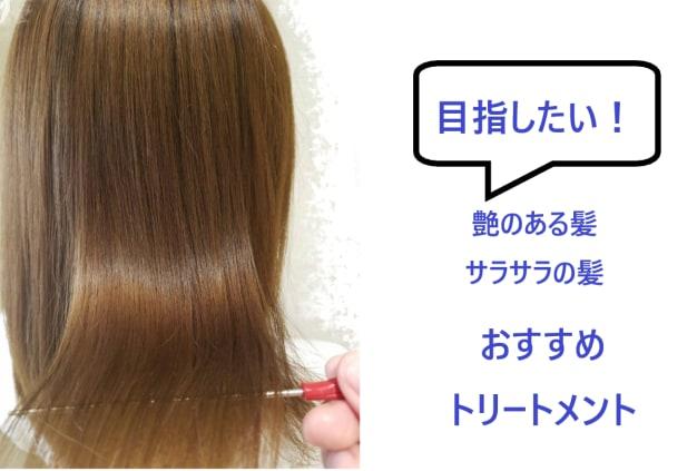 不動の人気!艶髪を目指すトリートメント