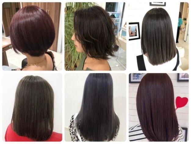 これからの季節にオススメしたいツヤ髪カラー