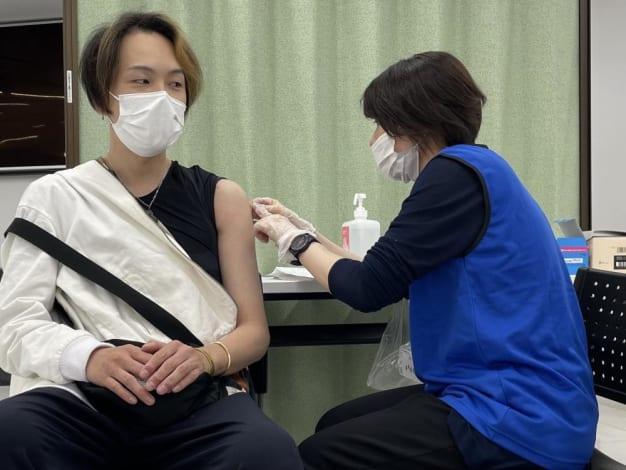 新型コロナウイルスワクチン職域接種を実施しました