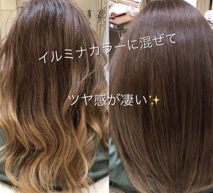 トリートメントよりも髪質が改善されて縮毛矯正よりもまっすぐ過ぎない?