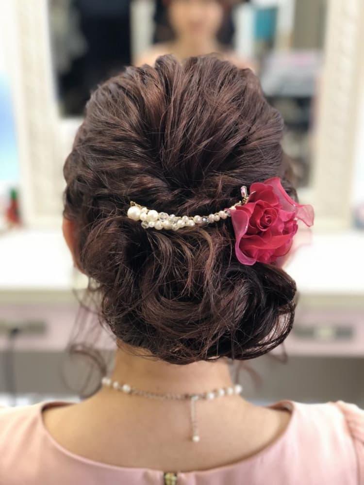 結婚式 アップスタイル|サブ写真③