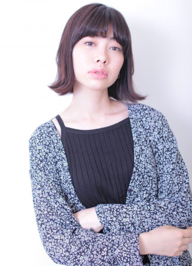 黒髪×外ハネボブ|メイン写真