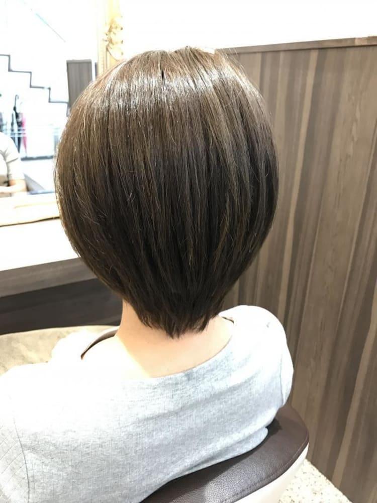 縮毛矯正ナチュラルヘア|メイン写真