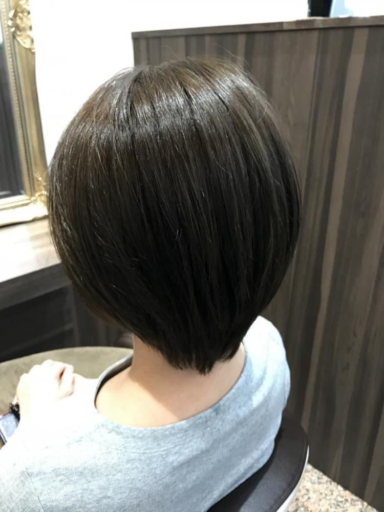 縮毛矯正ナチュラルヘア|サブ写真②