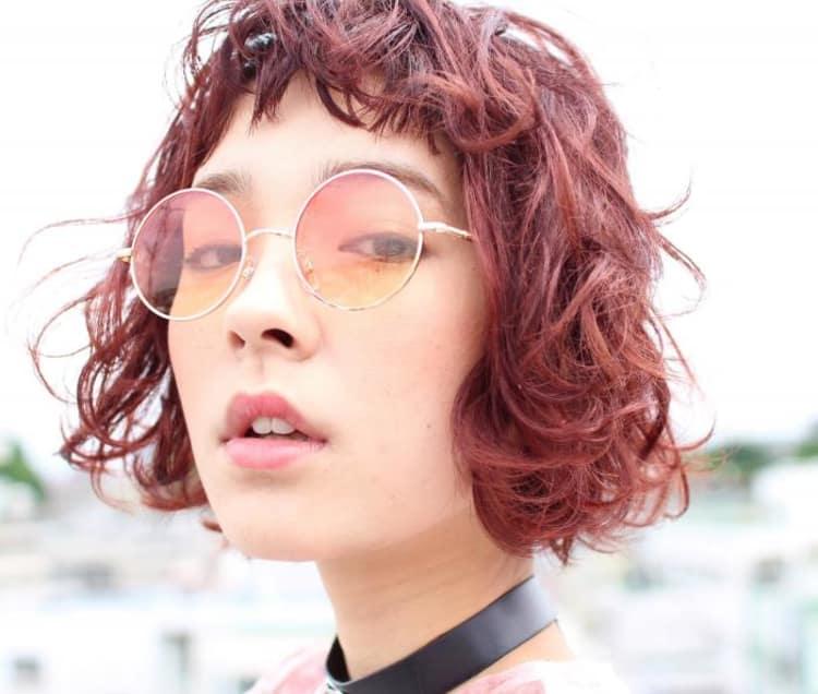 【*イルミナコーラルピンク×外国人風ボブ*】|メイン写真