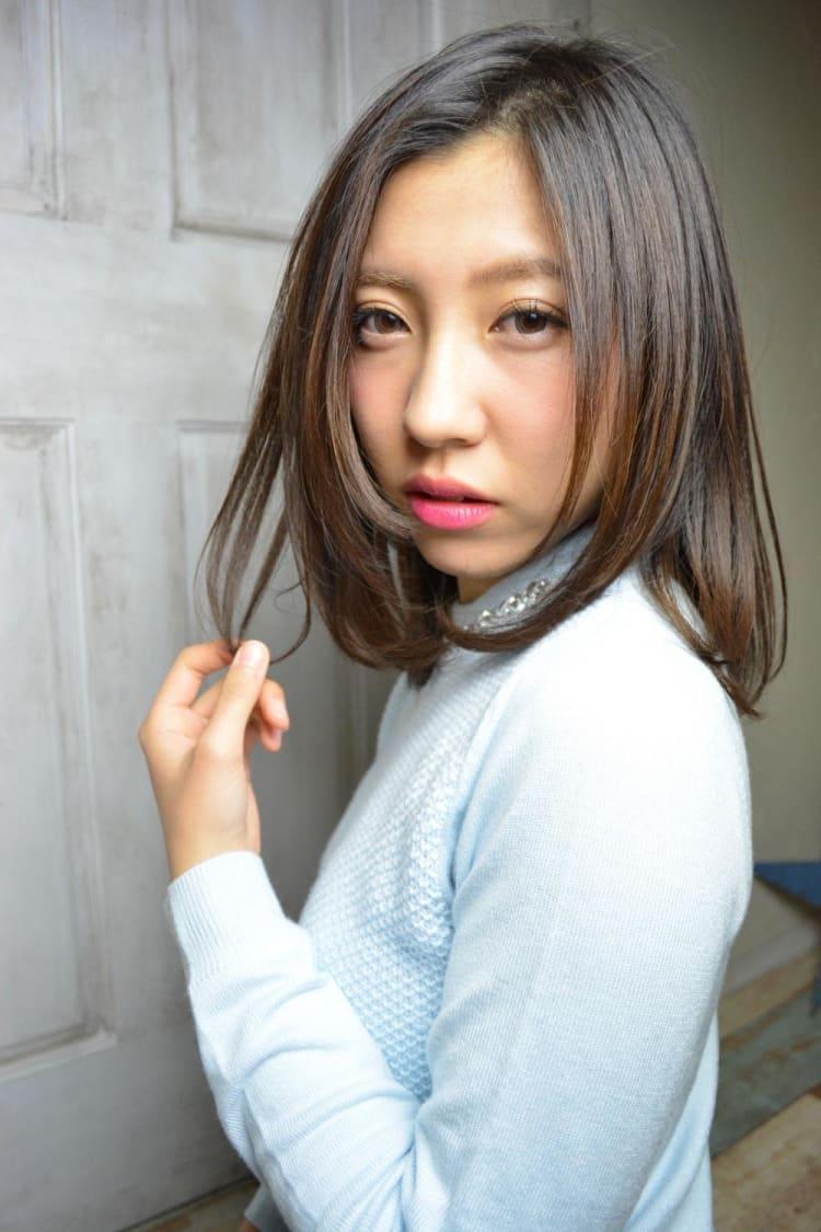 マイナス5歳【艶ストレート】|メイン写真