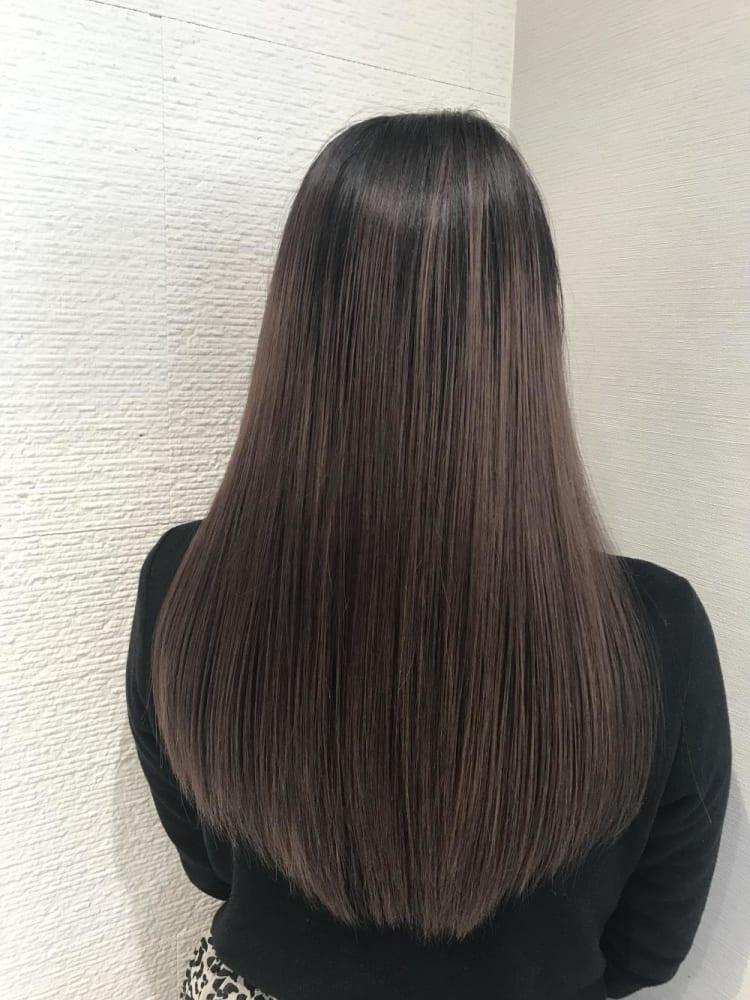 【圧倒的艶髪】髪質改善縮毛矯正|メイン写真
