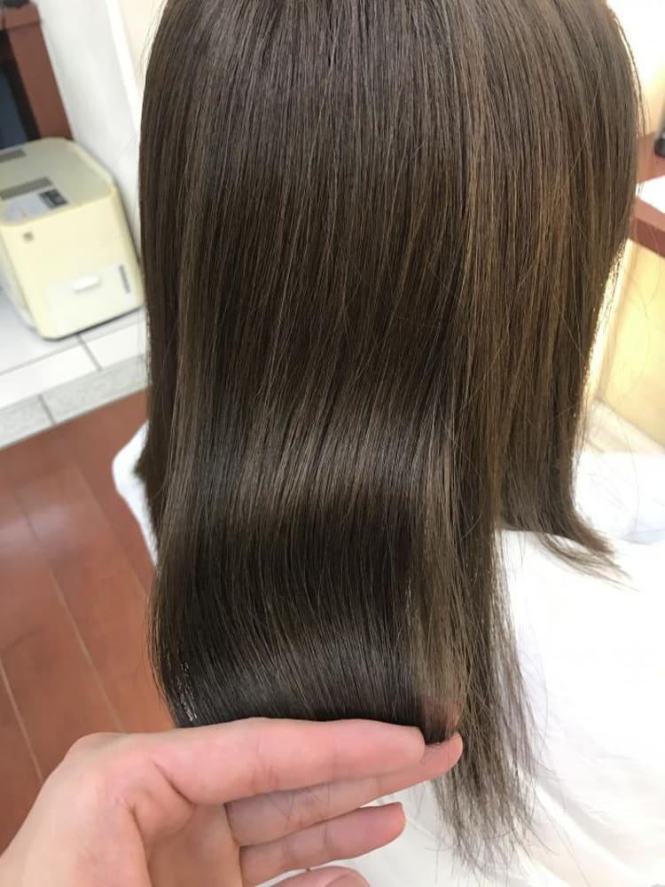 髪質改善!ナチュラルストレート|メイン写真