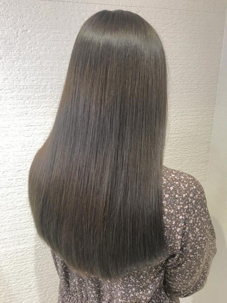 【圧倒的艶髪】髪質改善縮毛矯正 メイン写真