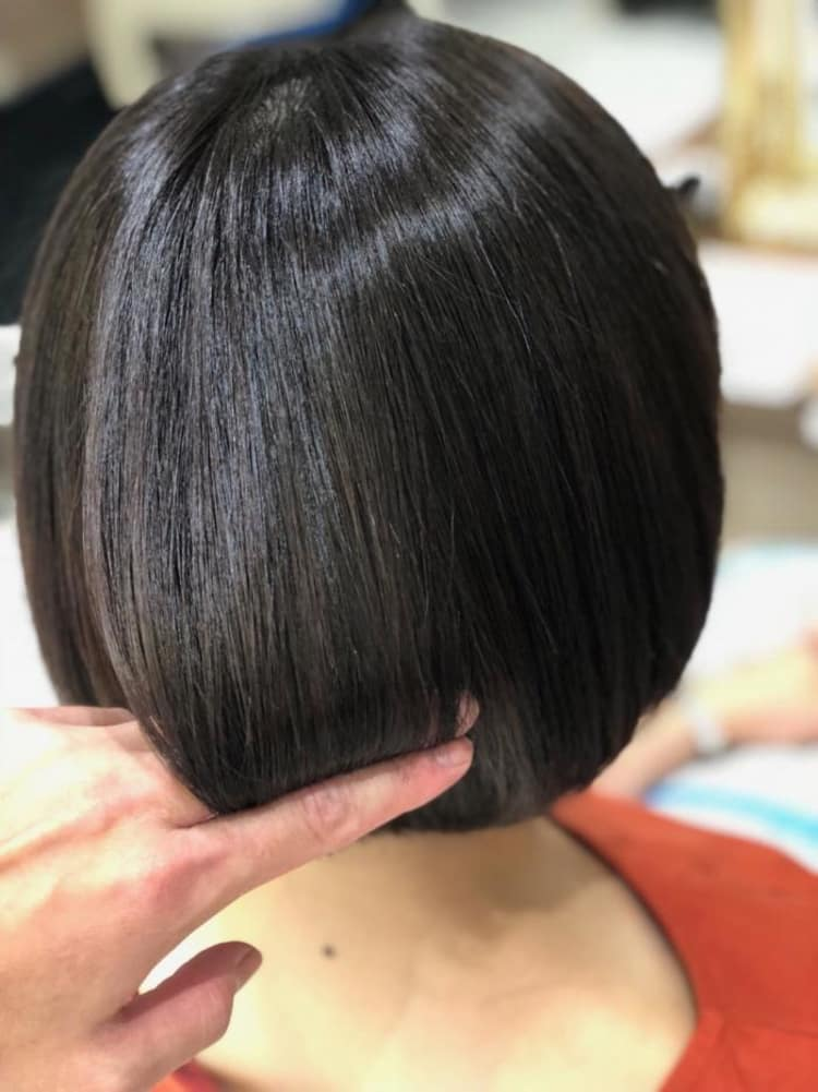 自然な縮毛矯正|サブ写真②