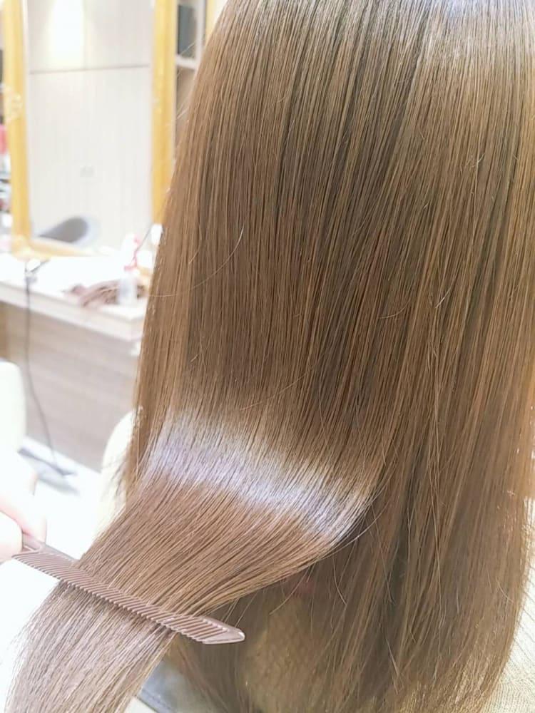 髪質改善ストレート メイン写真