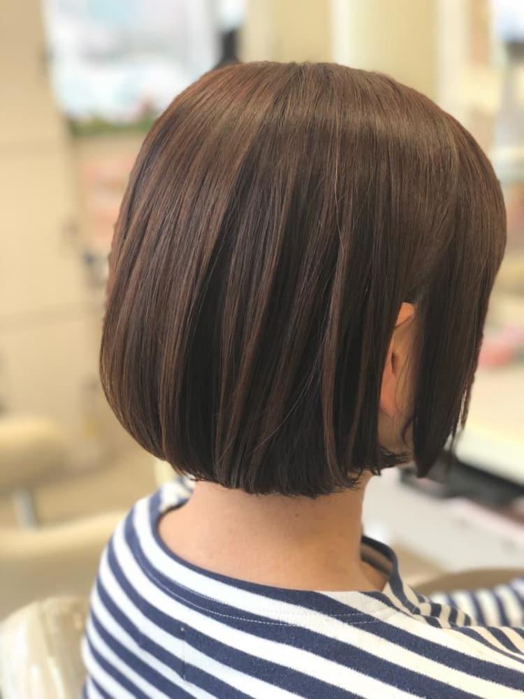 くせ毛のOKボブストレート|メイン写真
