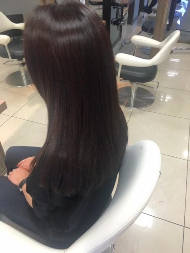 ダメージレス縮毛矯正で髪質改善|サブ写真③