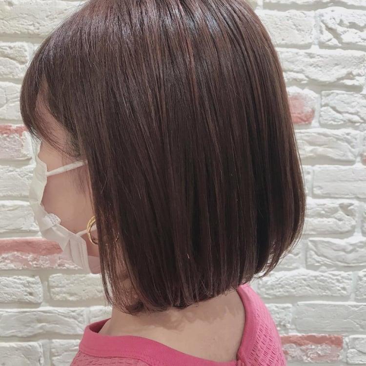 髪質改善トリートメントではねない艶ボブ|サブ写真③