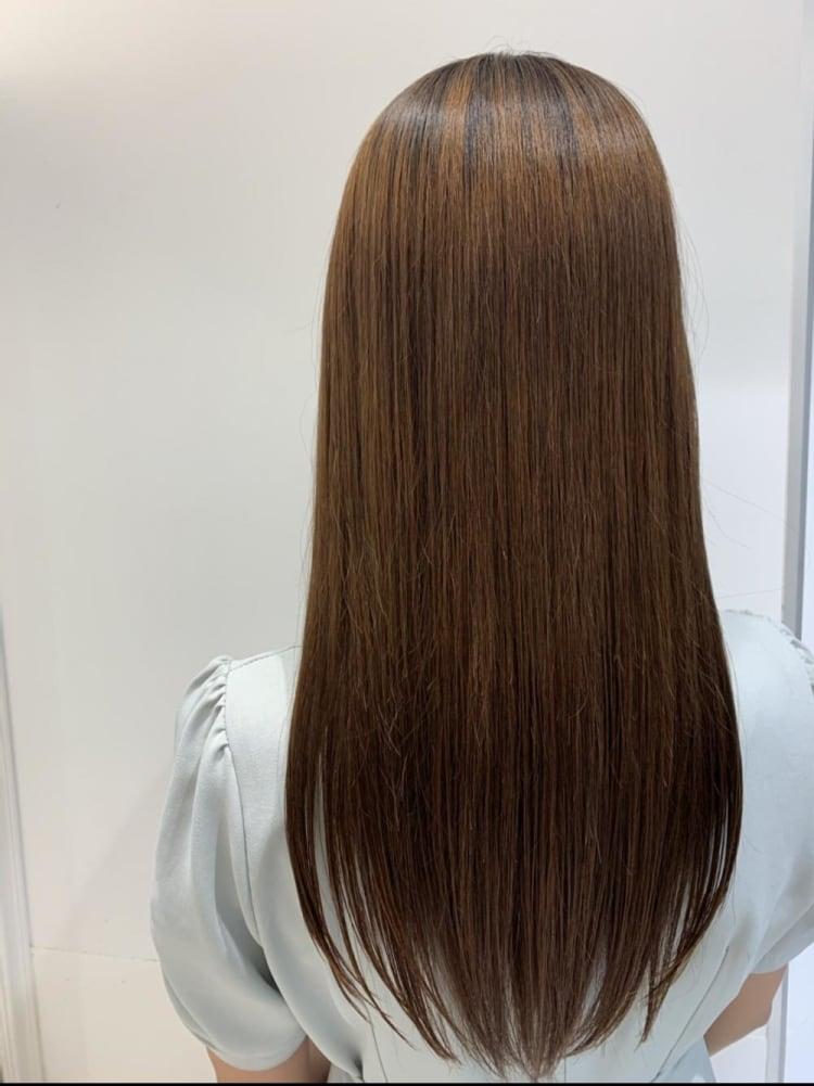 艶髪ストレート×髪質改善|メイン写真