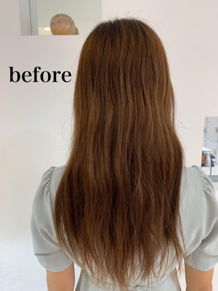 艶髪ストレート×髪質改善|サブ写真②