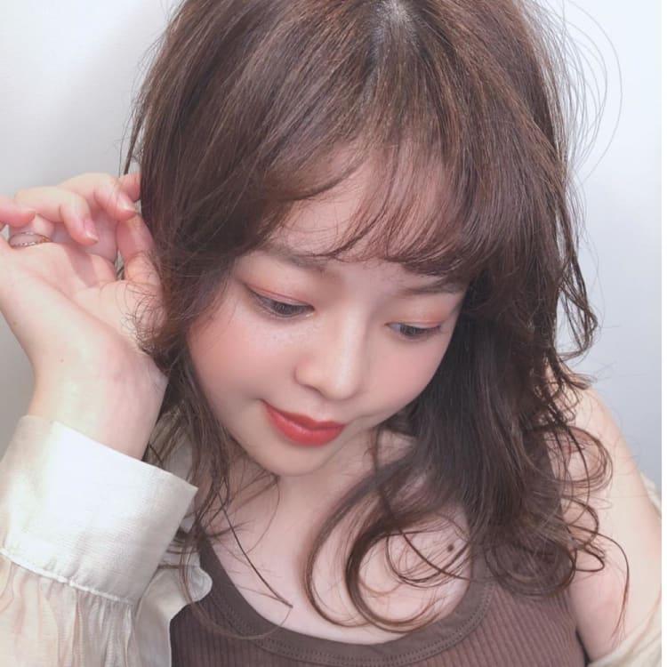モテ髪柔らか質感へイルミナカラー メイン写真