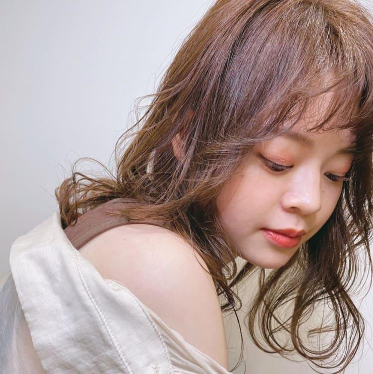 モテ髪柔らか質感へイルミナカラー サブ写真②