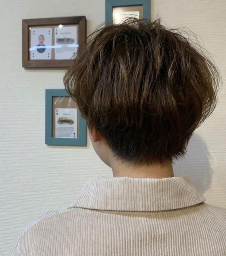 クセを活かしてショートヘア♪|メイン写真