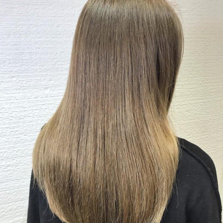 【ブリーチ毛、ハイダメージ毛にも施術可能】酸熱トリートメントストレートで圧倒的艶髪 メイン写真
