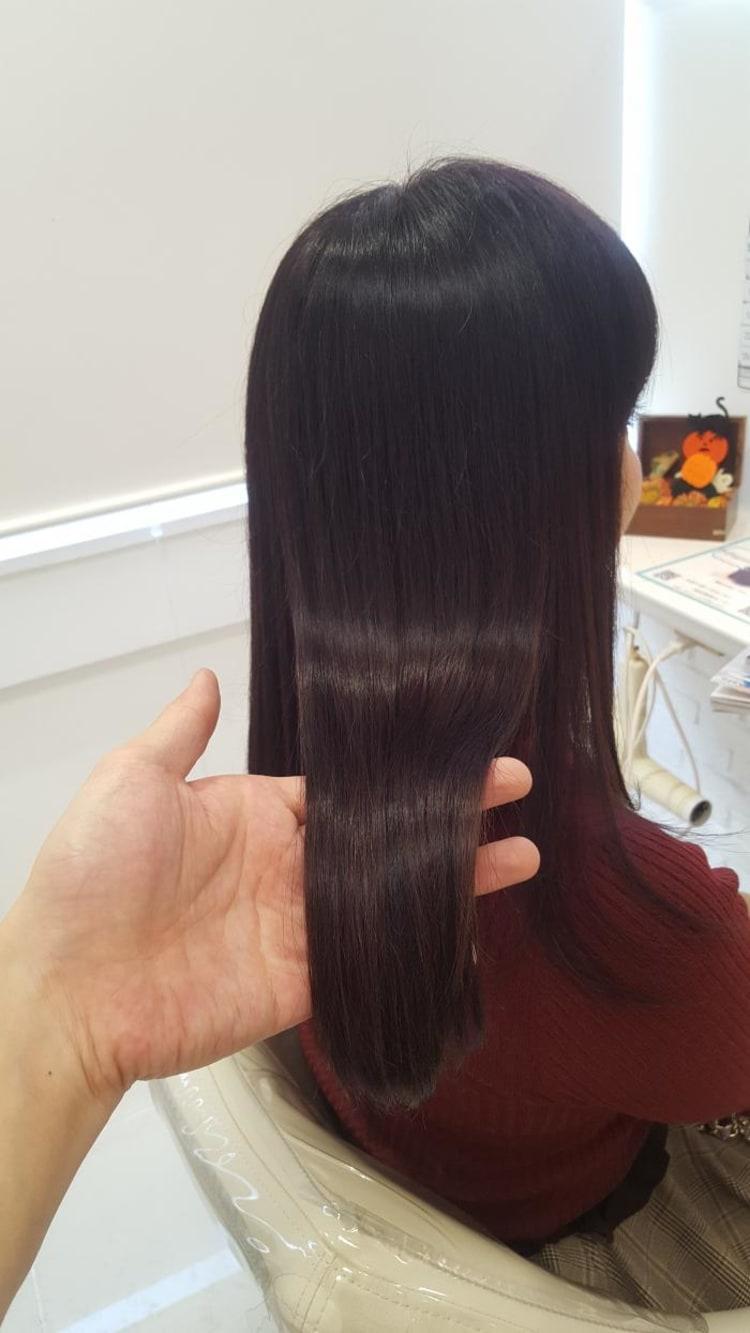 髪質改善縮毛矯正 メイン写真
