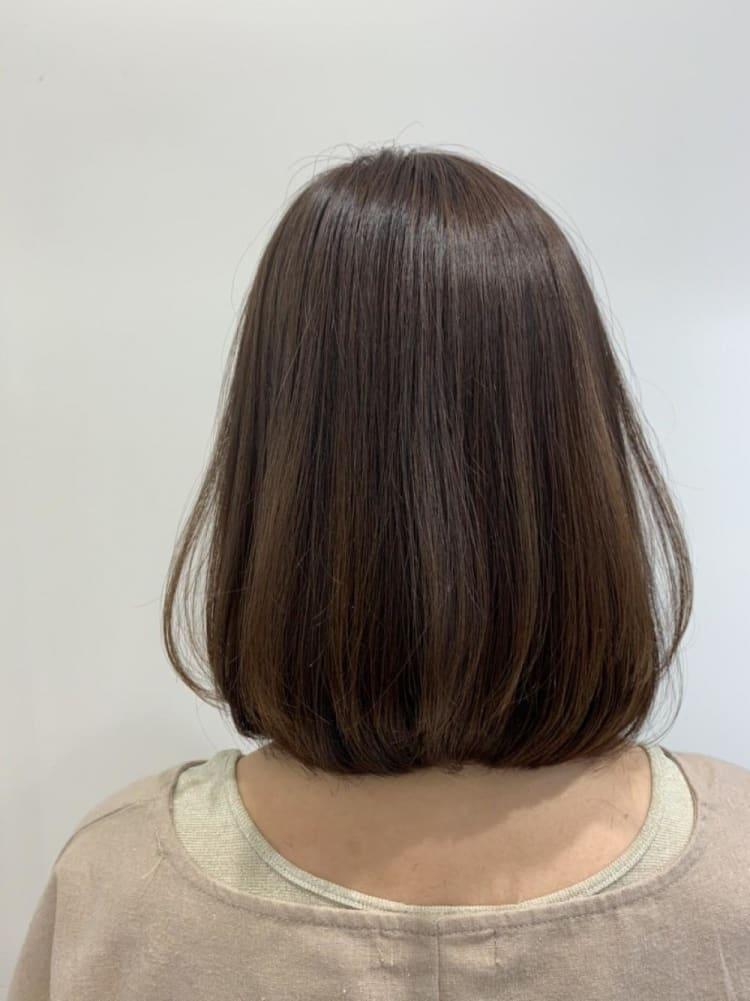 ぺたんとならないふんわりまとまる髪質改善♪|メイン写真